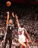 Miami  FL - June 20: Danny Green and Mario Chalmers