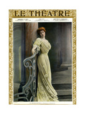 1900s France Le Theatre Magazine Cover