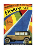 1920s USA Erskine Six Magazine Advertisement