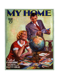 1930s USA My Home Magazine Cover
