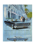 1960s USA Pontiac Grand Prix Magazine Advertisement