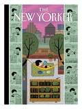 Urban Bliss - The New Yorker Cover  July 1  2013
