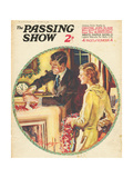 1930s USA The Passing Show Magazine Cover