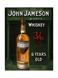 1900s UK John Jameson Poster