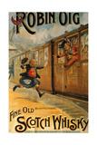 1890s UK Robin Oig Poster