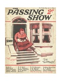 1920s UK The Passing Show Magazine Cover