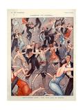 1920s France La Vie Parisienne Magazine Plate Giclée