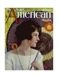 1920s USA The American Magazine Cover