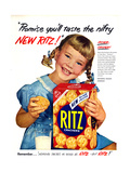 1950s USA Ritz Magazine Advertisement