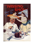 1920s USA The Passing Show Magazine Cover