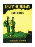1930s UK Rambler's Association Poster