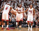 Miami  FL - June 20: LeBron James and Mario Chalmers
