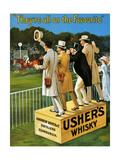 1910s UK Usher's Poster