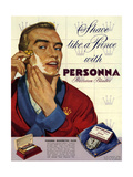 1950s UK Personna Magazine Advertisement