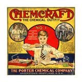 1920s USA The Porter Chemical Company Magazine Advertisement