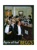 1910s UK Begg's Poster