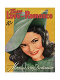 True Love & Romance Vintage Magazine - February 1942 - Gene Tierney - Marriage Is My Destination