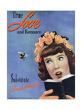 True Love & Romance Magazine - April 1947