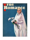True Romance Vintage Magazine - June 1937 - Cover- Madge Evans