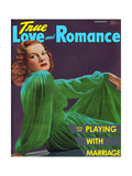 True Love & Romance Magazine - January 1941 - Maureen O'Hara