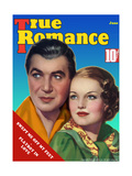 True Romance Magazine - June 1936 - Rochelle Hudson - Harry Richman - Columbia Pictures