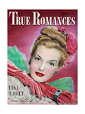 True Romances Magazine - February 1947 - Hazel Mcferrin Model