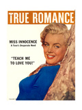 True Romance Vintage Magazine - January 1957 - Marilyn Monroe