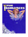 True Romances Vintage Magazine - January 1936