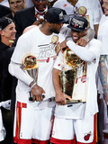 Miami  FL - June 20: LeBron James and Dwyane Wade