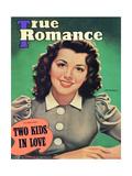 True Romance Vintage Magazine - November 1941 - Ann Rutherfurd Paramount