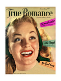 True Romance Vintage Magazine - October 1950 - Let's Elope!