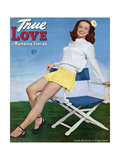True Love Romance Stories Magazine - July 1945 - Noel Neill