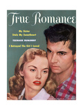 True Romance Vintage Magazine - September 1953 - My Sister Stole My Sweetheart