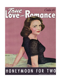 True Love & Romance Vintage Magazine - October 1942 - Donna Reed