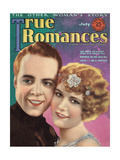 True Romances - July 1925 - Bobby Agnew - Lucile Ricksen