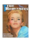 True Romances Vintage Magazine - September 1941 - Georgia Carroll Warner Bros