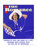 True Romance Vintage Magazine - September 1936 - Trapped by Love