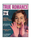 True Romance Vintage Magazine - November 1957 - I'Ll Pretend I Love You