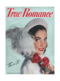 True Romance Magazine - July 1947 - Cover Girl Monya Horujko