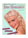 True Romance Vintage Magazine - November 1950 - Crazy About Him