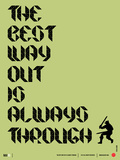 Tha Best Way Out Poster
