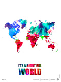 It's a Beautifull World Poster
