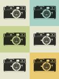 Camera Grid Poster