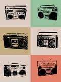 Boom Box Poster