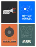 Music Phrase Poster Set