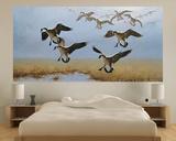 Geese Flying (Indoor/Outdoor) Vinyl Wall Mural