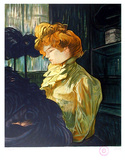 Portrait de Femme after Toulouse-Lautrec