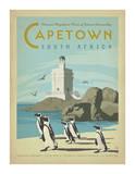 Le Cap, Afrique du Sud Reproduction d'art par Anderson Design Group