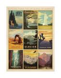 National Parks: The Art & Soul Of America Reproduction d'art par Anderson Design Group