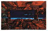 Rusted Room Reproductions de collection premium par John Hultberg